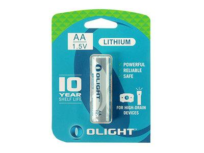 OL AA / Olight AA Lithium batterij 1.5 V 2900mAh