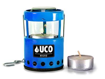 UC B-LTN-STD-BL / Uco Micro Candle Lantern Blue