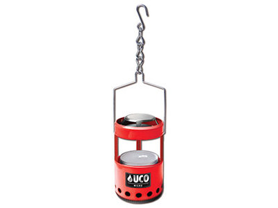 UC B-LTN-STD-RD / Uco Micro Candle Lantern Red