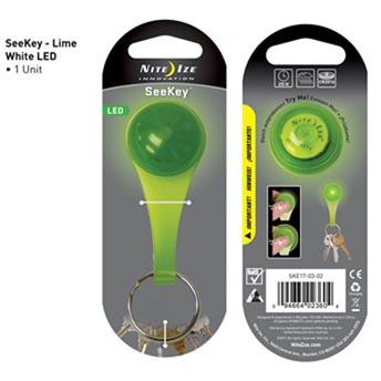 NI SKE17-03-02 / Nite Ize SeeKey Lime/White LED