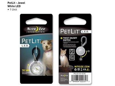 NI PCL02-03-02JE / Nite Ize Petlit CLR Jewel