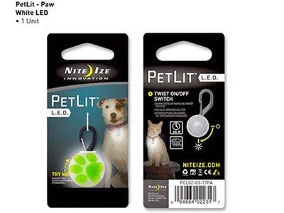 NI PCL02-03-17PA / Nite Ize Petlit Lime PAW