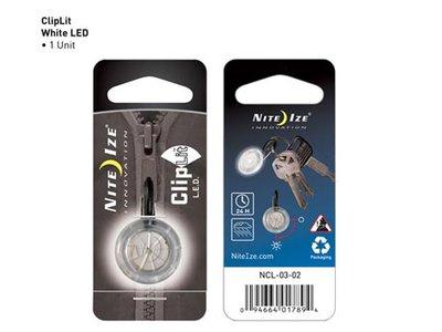 NI NCL-03-02 / Nite Ize ClipLit LED White